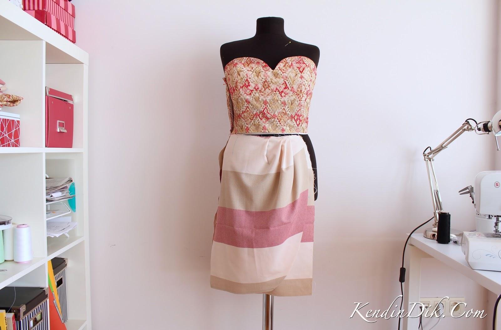 adım adım elbise tasarımı