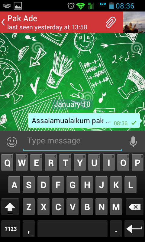 Aplikasi Android unSika Chat