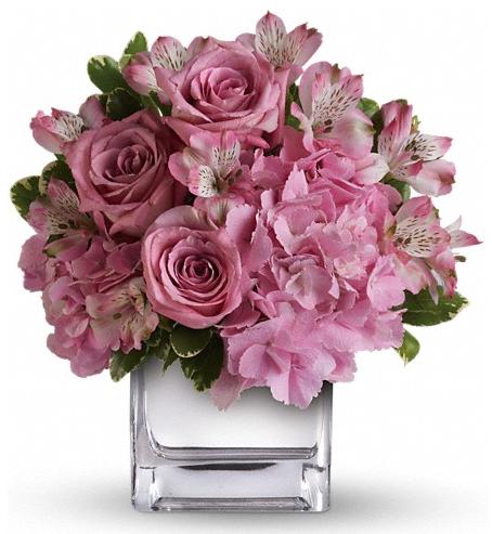 valentine flower idea