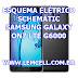 Esquema Elétrico Smartphone Celular Samsung Galaxy On7 Dual SIM G6000 Manual de Serviço