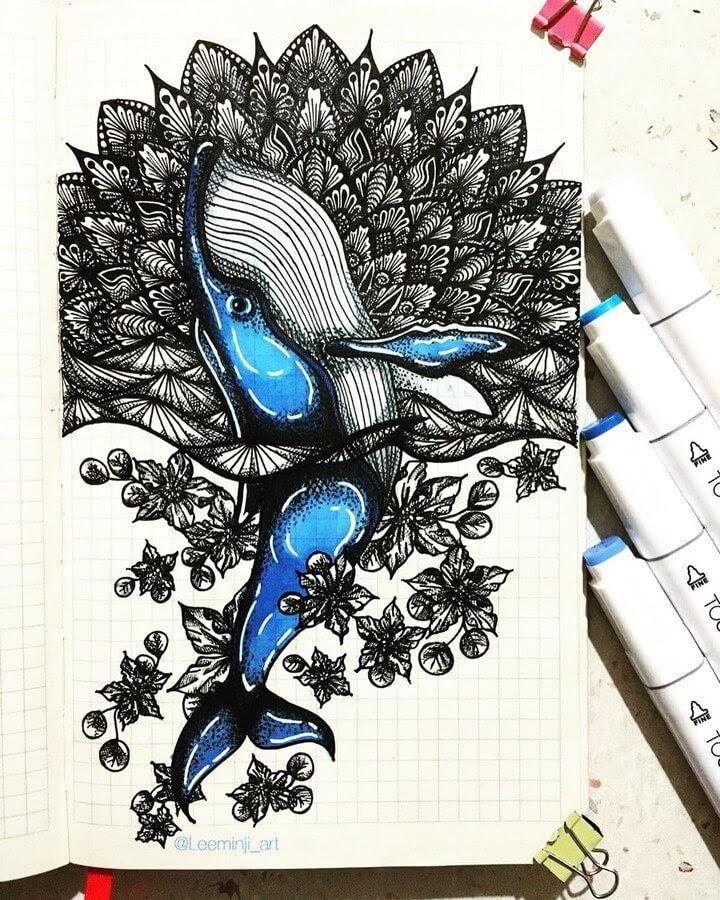 02-Blue-Whale-Lidiia-Varichenko-www-designstack-co
