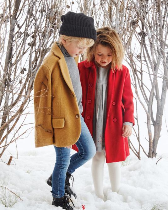 Ropa de moda para varones y niñas 2017.
