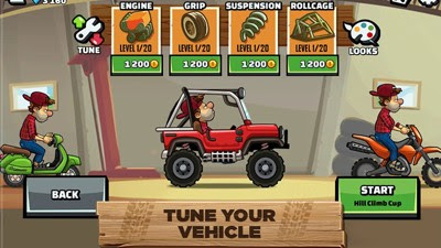 Hill Climb Racing 2: Tune Upgrade Vehicles