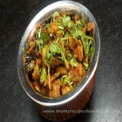 royyala iguru / andhra style Prawn semi gravy recipe