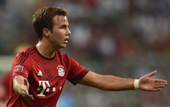 Borussia Dortmund want to resign Mario Gotze