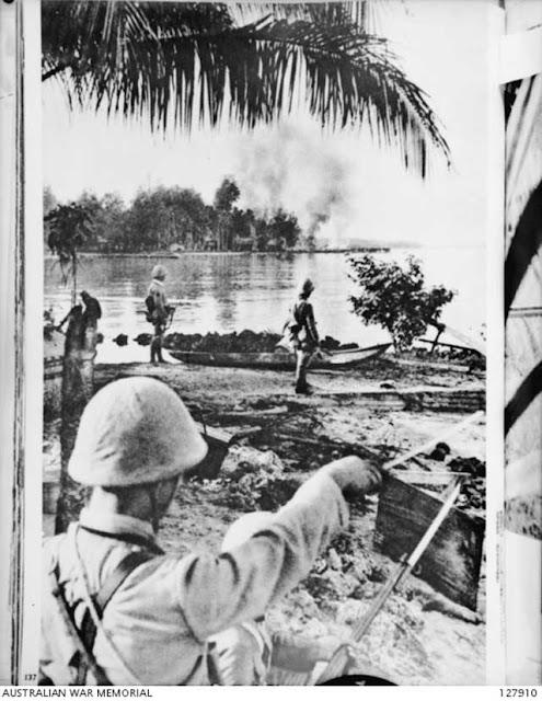 Japanese occupation of Kavieng on New Ireland, 23 January 1942 worldwartwo.filminspector.com