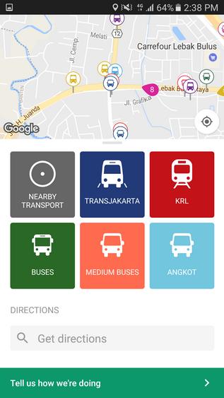 Trafi Aplikasi Android Yang Membantu Pengguna Kendaraan Umum Sukasukadee