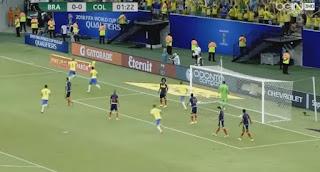 ملخص واهداف مباراة البرازيل 2-1كولمبيا | تصفيات كأس العالم: أمريكا الجنوبية