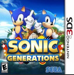 Sonic Generations, 3DS, Español, Mega, Mediafire