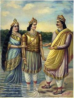 Kelahiran Bisma Mahabharata