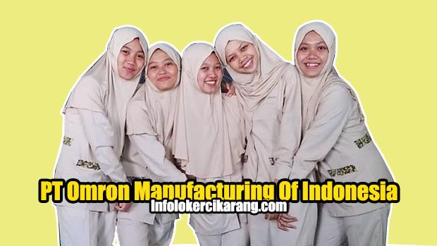 Lowongan Kerja PT Omron Manufacturing Indonesia Cikarang Bekasi