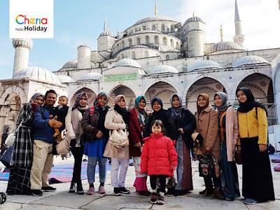 Paket Wisata Halal Turki ke Blue Mosque