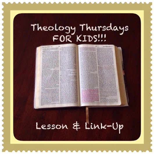 Theology Thursdays FOR KIDS!!! Lesson & Link-Up #23 What is Sin?