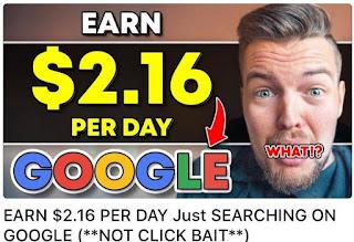 Cuma Modal Browsing Bisa Dapat Uang Gratis Sebesar Rp 960.000 Per Bulan