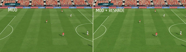 PES 2017 Fmods Details Pack - Sweetfx, Reshade, Turf