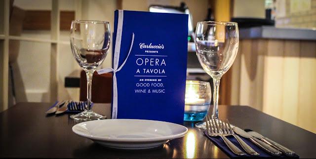 Carluccio's Presents Opera A Tavola