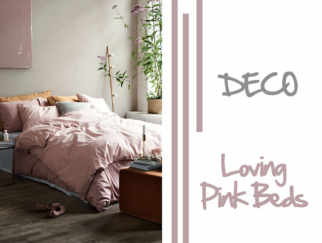 PHOTO-DECORACION-CAMAS-SABANAS-ROSAS-GRISES-PINK-BED