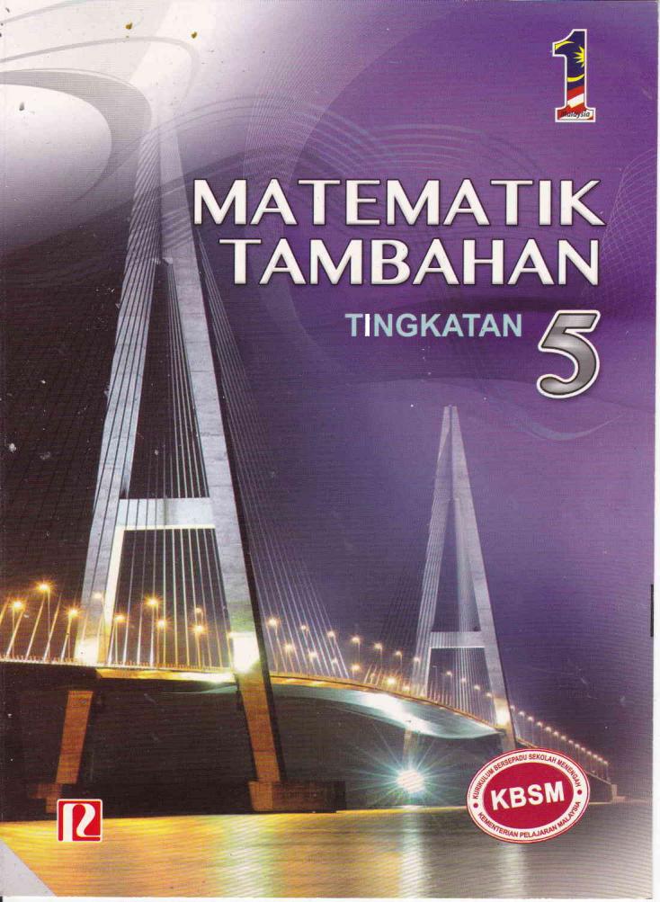 Cikgu Azman: Jawapan Buku Teks Matematik Tambahan Tingkatan 5