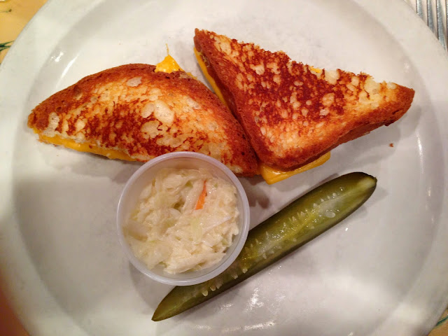 gluten free Grilled Cheese at Cafe Eighty Two in New York