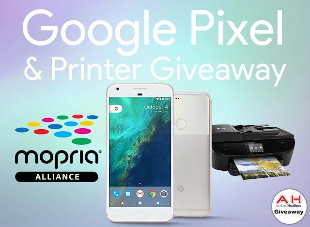 Win A Google Pixel & HP Printer Giveaway