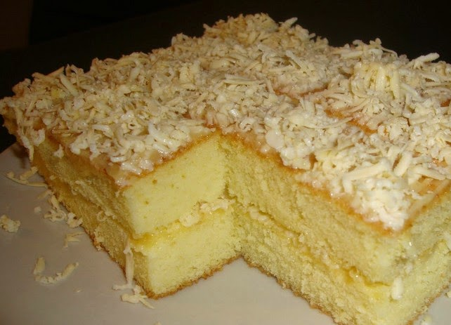 Bolu Cake Keju Super Enak
