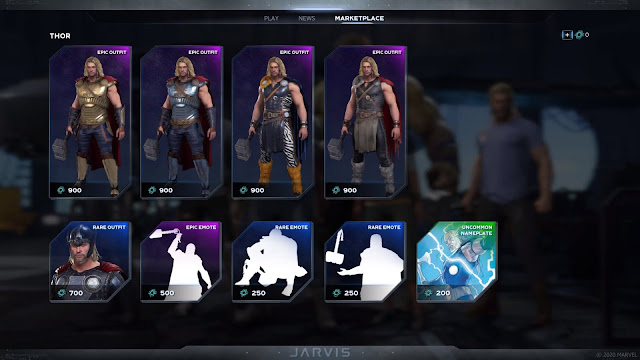 Marvel's Avengers Cosmetics Details Explained Hero Challenge Card Marketplace
