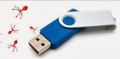 Cara mengembalikan file yang di hidden oleh virus di Flash Disk