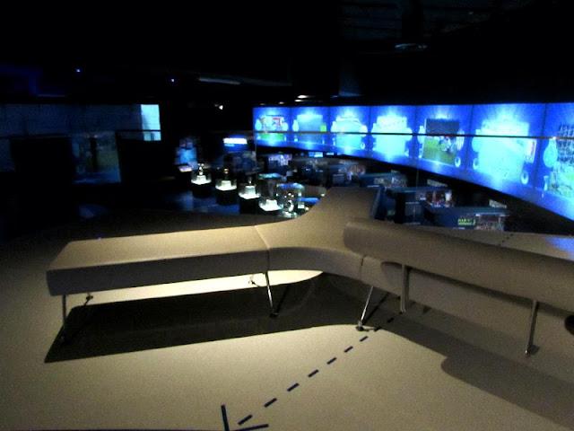 Lounge de descanso no Museu do FC Porto