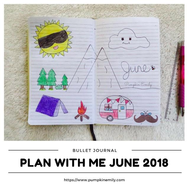 Plan With Me June 2018 | Bullet Journal Setup