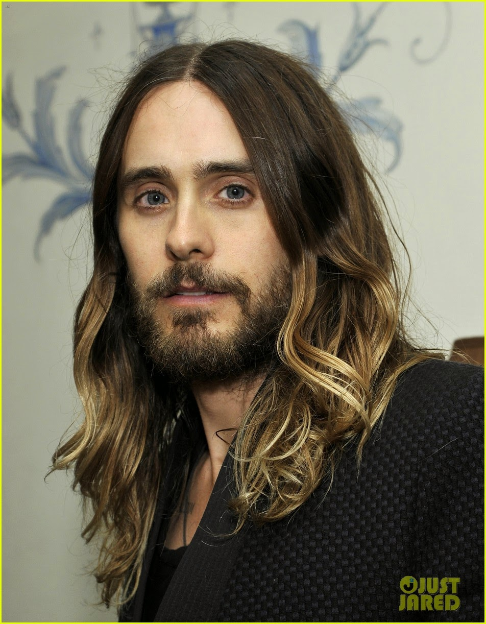 Celeb Diary: Jared Leto @ 2014 Golden Globes Weekend