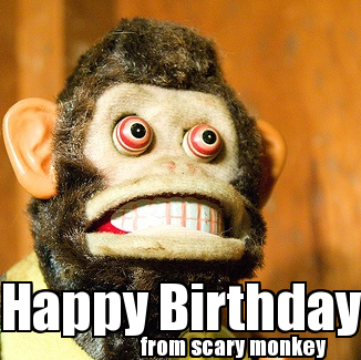 happy birthday funny monkey - photo #12