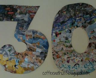 30 magazine scraps