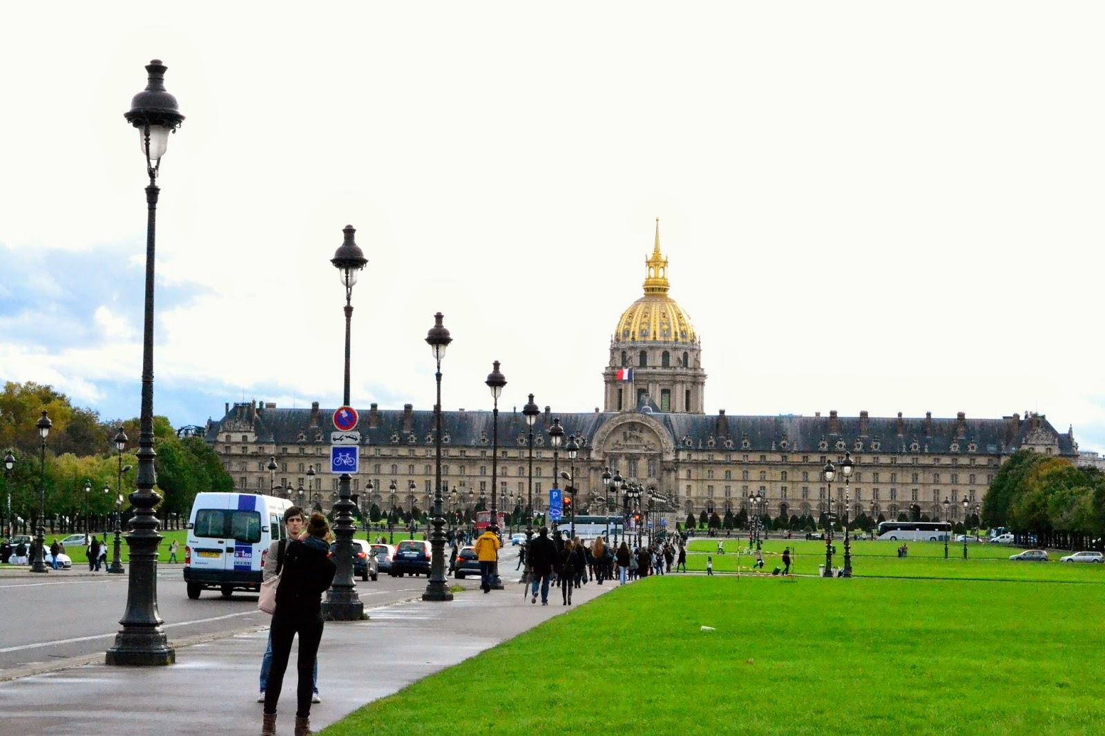 Palacio Nacional de los Inválidos, Paris, guía de viaje