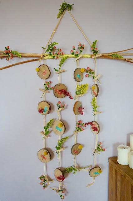 Décoration murale fleurie