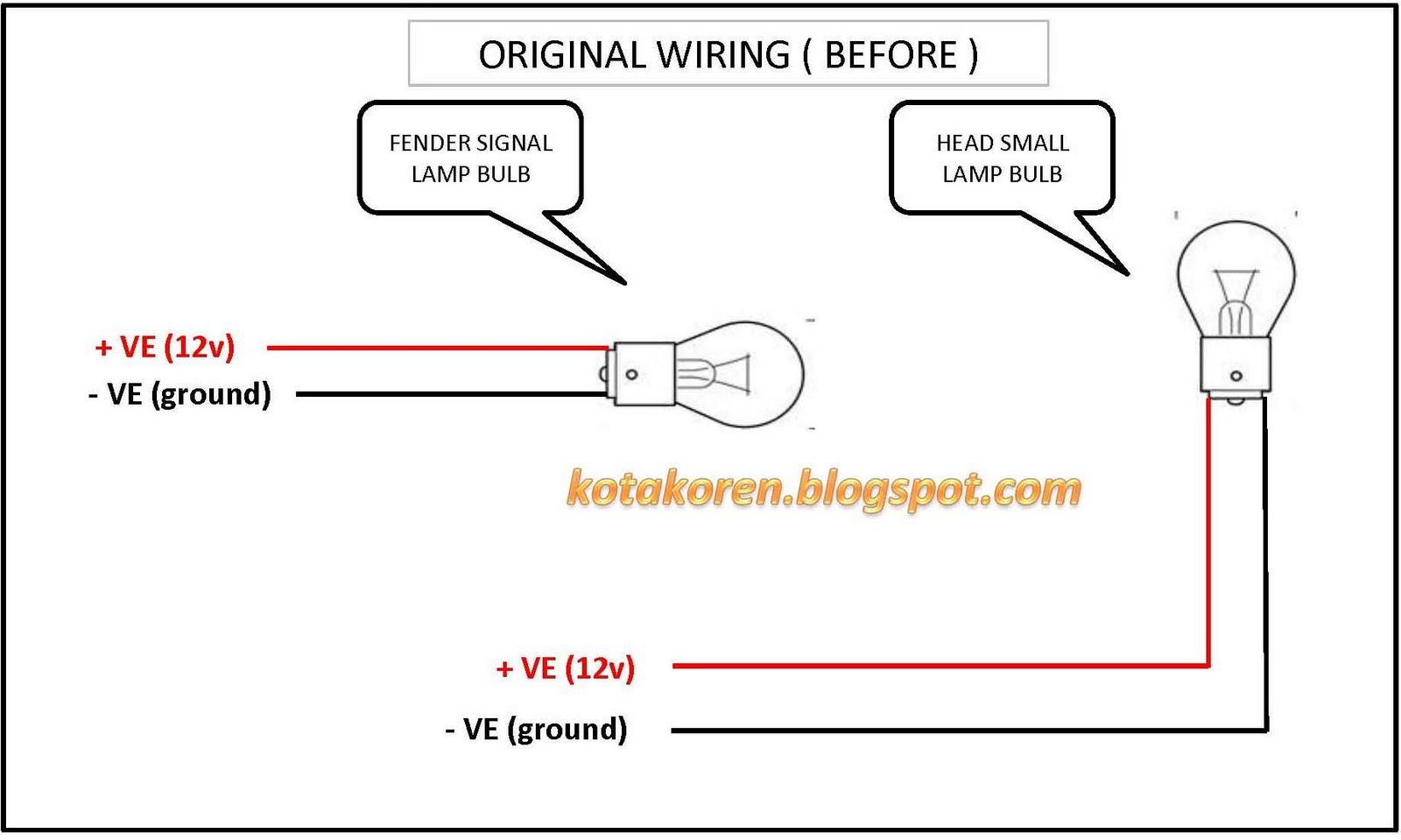 diy side fender lamp wira kotak oren rh kotakoren blogspot com