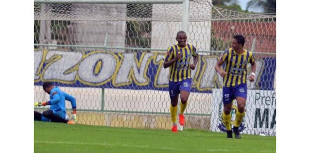 Com 3 gols de Isac, Horizonte goleia o Itapipoca e fica com um pé na classificação.