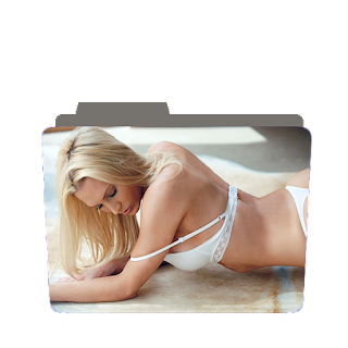 Preview of hot, blonde,girl, sexy, photoshoot folder icon
