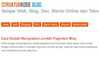 teknik dasar memodifikasi tampilan halaman blog