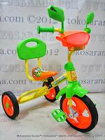 Sepeda Roda Tiga PMB 920 BMX Safari Musik - Sandaran