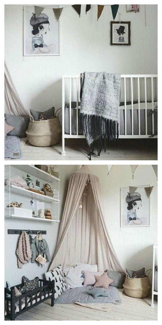 Habitación infantil de estilo Nórdico- Mrs. Biguetto