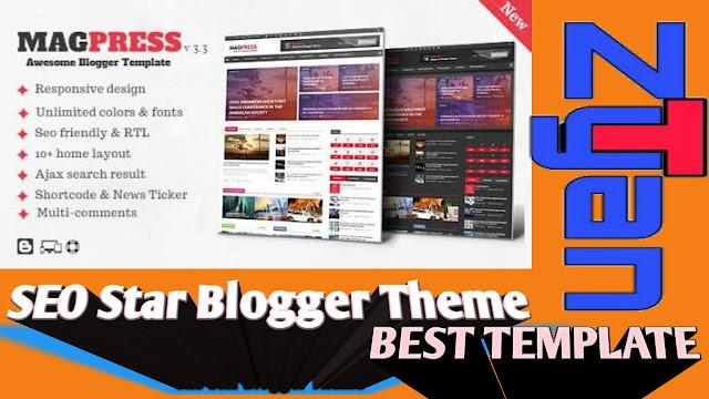 SEO Star Blogger Theme