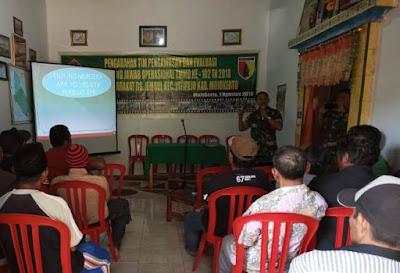 Satgas TMMD 102 Gelar Penyuluhan Wasbang Bagi Warga Desa Jembul