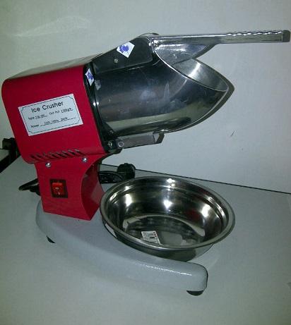 Spesifikasi dan Jenis Mesin Serut Es Batu Listrik