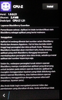 Install aplikasi Android di Blackberry OS 10