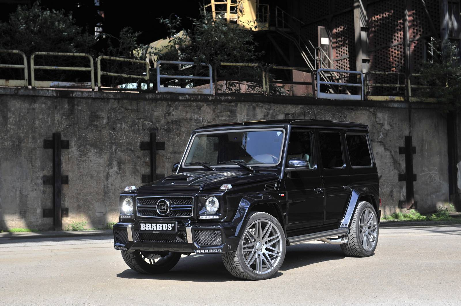 mercedes benz g63 brabus - photo #27
