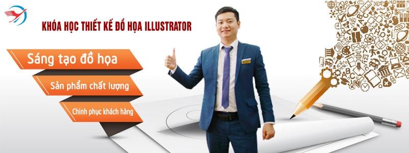Học Illustrator tại Hoàng Mai