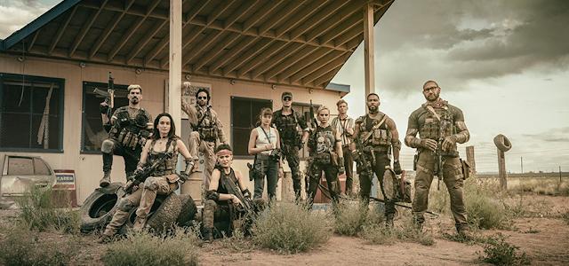 'Army Of The Dead', de Zack Snyder, terá uma série prequel e versão em anime da Netflix