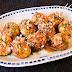 Takoyaki / fried octopus dumplings (calamari version)