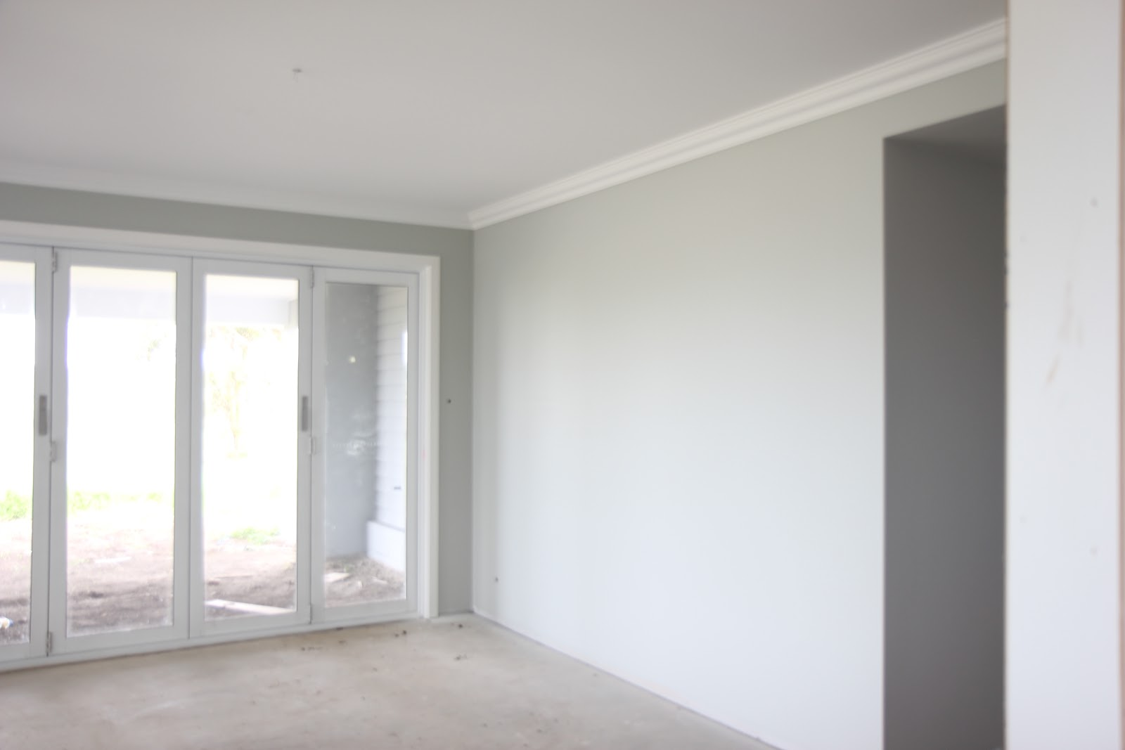 Building Our House Of Grey And White Paint Pics