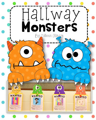 https://www.teacherspayteachers.com/Product/Hallway-Monsters-875089